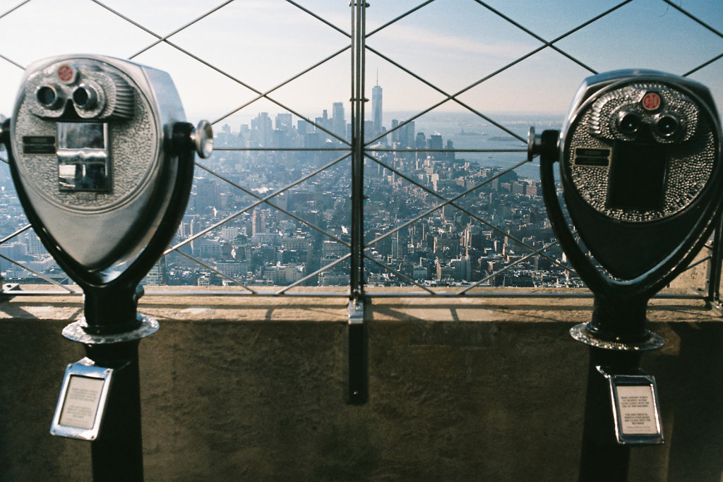 Lower Manhattan vue de l'Empire State